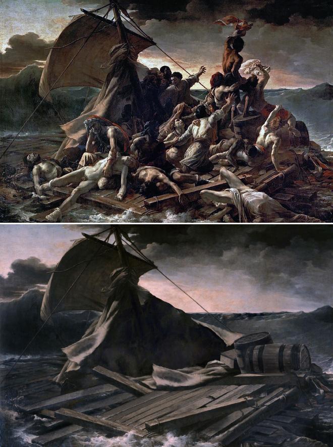 La Balsa de la Medusa (a partir del cuadro homónimo de Théodore Géricault)