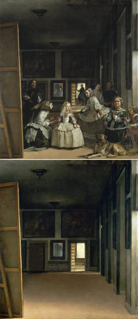 Palacio Real (Las Meninas, de Diego Velázquez)