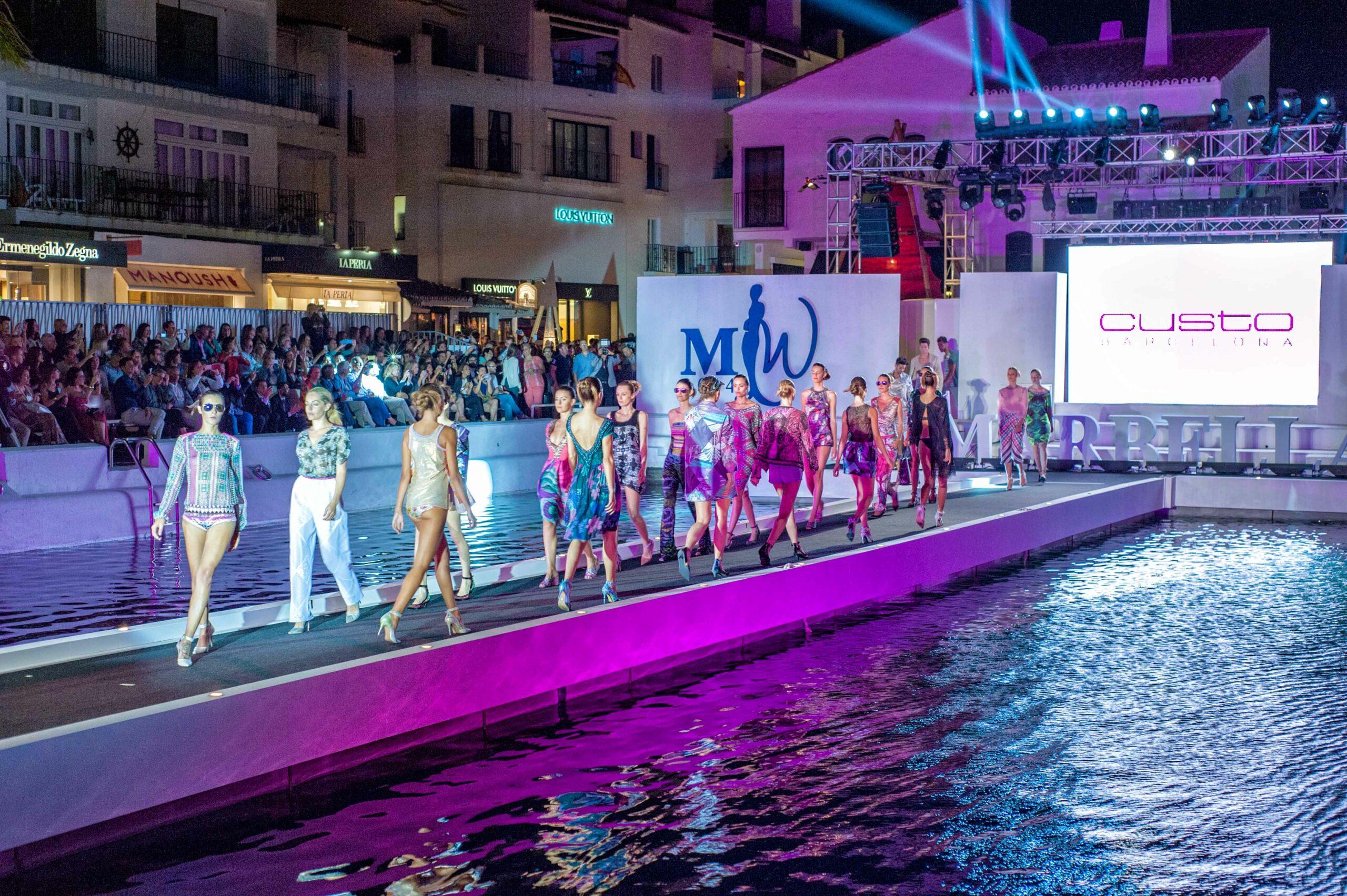 Marbella Luxury Weekend: pasarela flotante